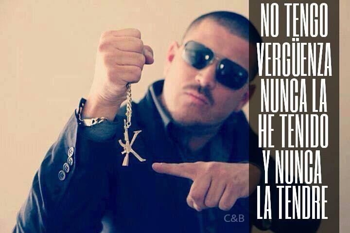 No Tengo Vergüenza, Nunca La He Tenido Y Nunca La Tendre.  #oynomas  -El Komander❤