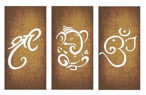 Wall Painting - shree ganesha om