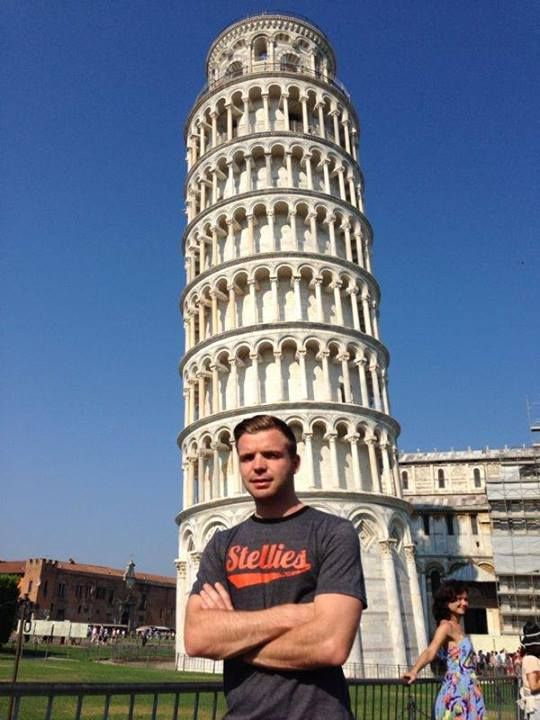 Buff is over-rated. Lean is in. Well, atleast in Pisa, Italy say's Zayne Ferreira wearing Stellies