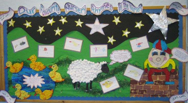 Nursery Rhymes classroom display photo - Photo gallery - SparkleBox