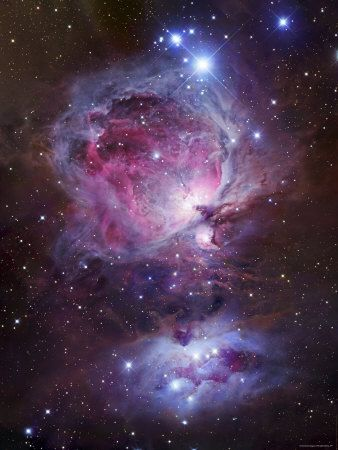 M42, the Orion Nebula (Top), and NGC 1977, a Reflection Nebula (Bottom)