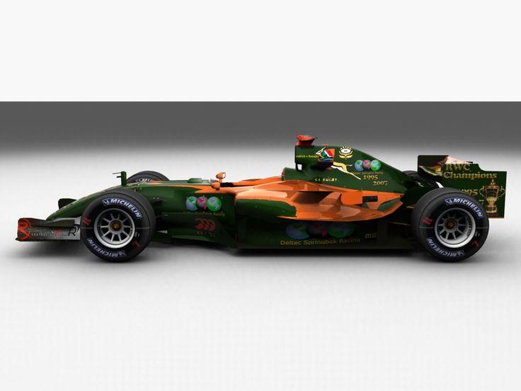 Deltec Racing Team F1 Design.
