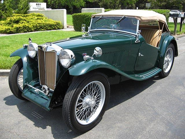 1948 MG TC...Re-pin brought to you by #AUTOInsuranceagents at #Houseofinsurance in #Eugene