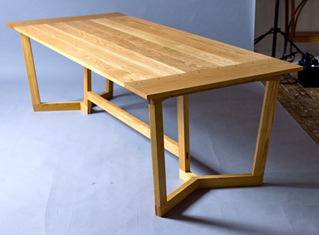 Dining Table , Sam James Designed Fine Furniture Maker and Designer.