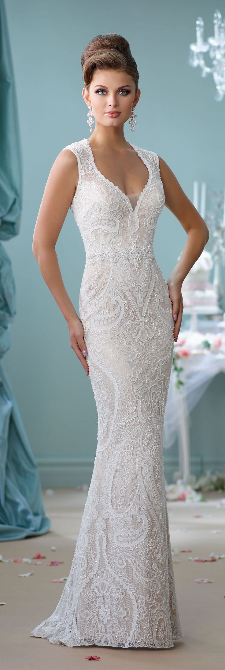 165 best Wedding dresses images on Pinterest | Gown wedding, Wedding ...