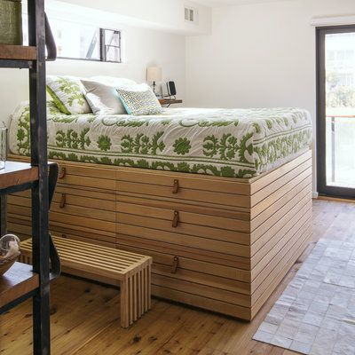 10 space saving beds with storage - High Bed Frames