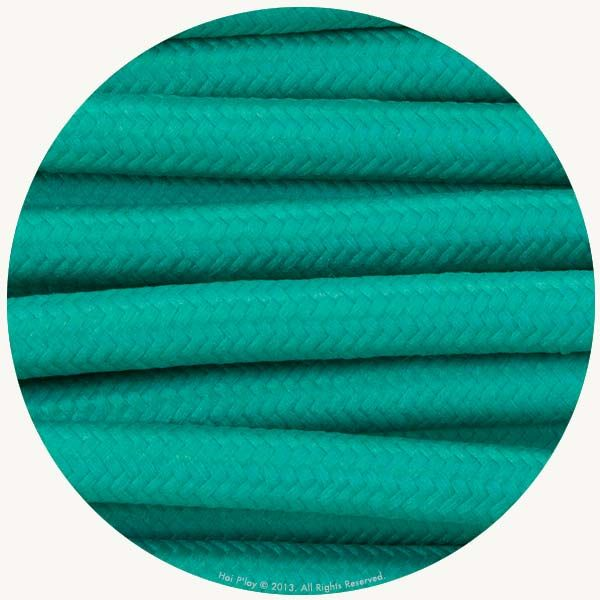Emerald Fabric Cable