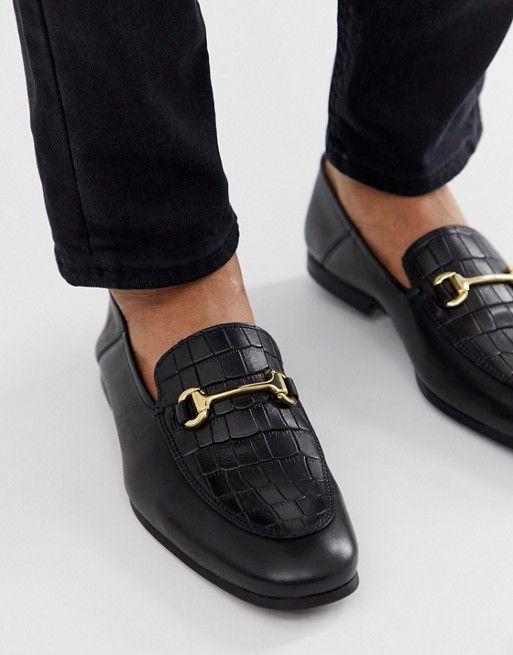 ac2a60c77 River Island trodden down loafers in black in 2019 | shoes | River ...