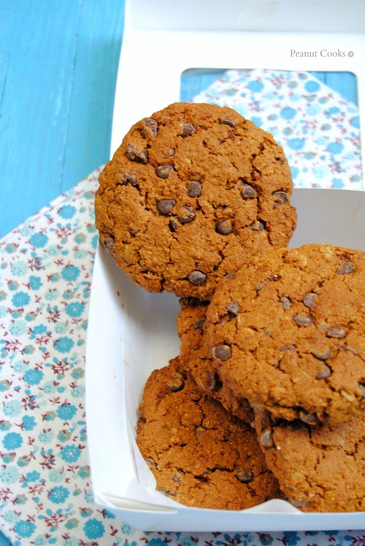 Pumpkin oatmeal chocolate chip cookies. Post *quasi* polemico ma con lieto fine.
