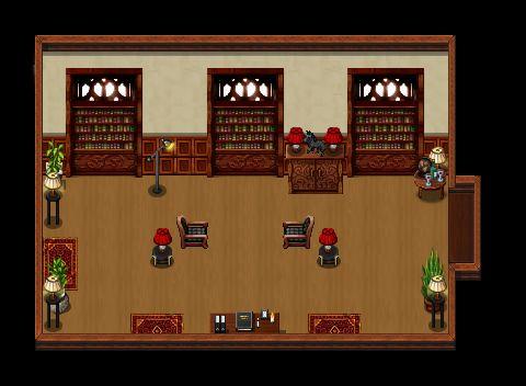 Diogenes Club - Stranger's Room (Interior)