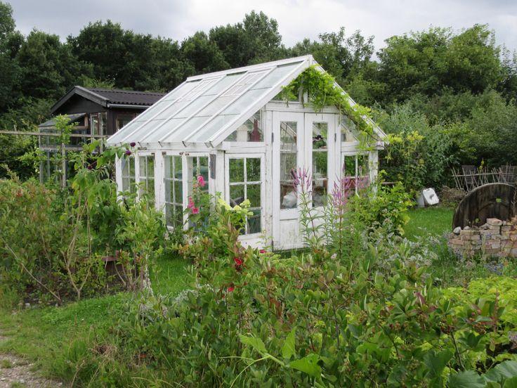 A Tiny Home Lilliputian Garden Greenhouse in Nokken in Copenhagen, Denmark via FoodWaterShoes
