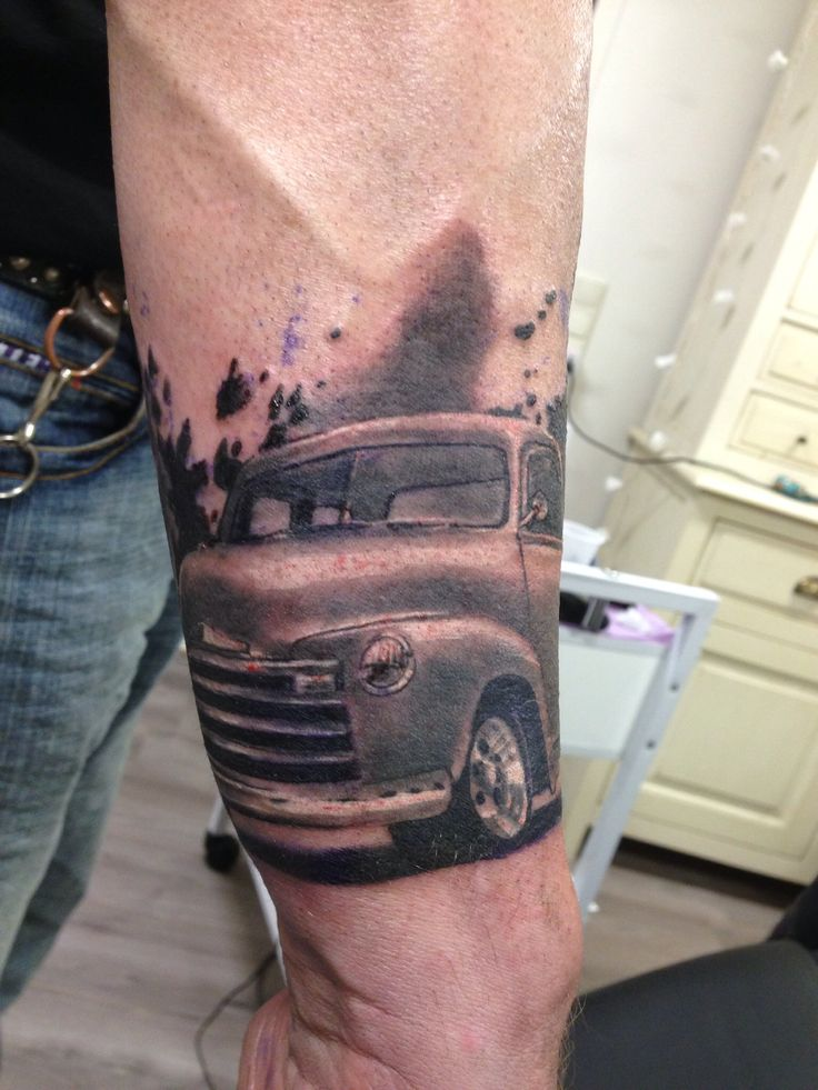 258 best tattoo of cars x images on pinterest tattoo for Truck tattoos designs