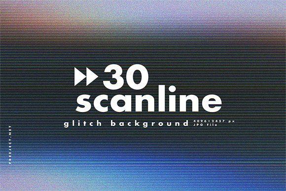 30 Scan Lines Glitch Background Glitch Tv Texture Old Tv