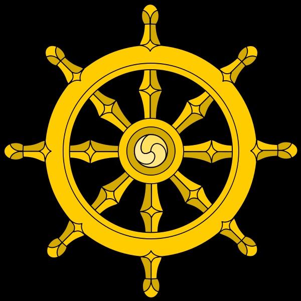 Dharma Wheel 2 T Shirt Buddha Wheels And The Wheel Of Dharma