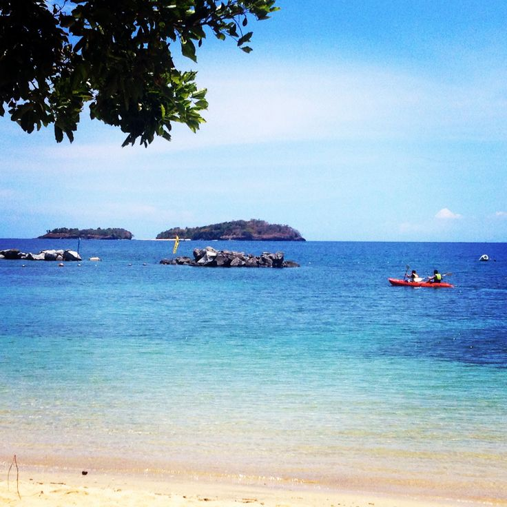 Long beach is one of the best spots in Punta Fuego. The water is clear, the sand is fine and the view is perfect! I love early morning swimming here
