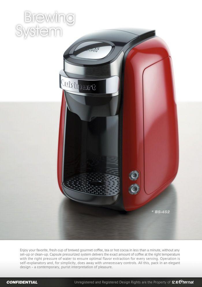 Caffitaly Capsule Espresso by Hugo Cailleton at Coroflot.com