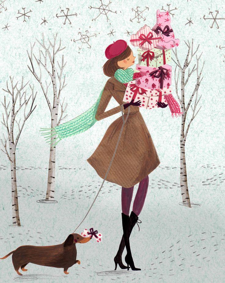 Mollie Makes Magazine - Emma Block Illustration