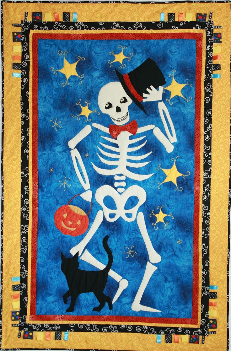 114 best Halloween Quilts images on Pinterest