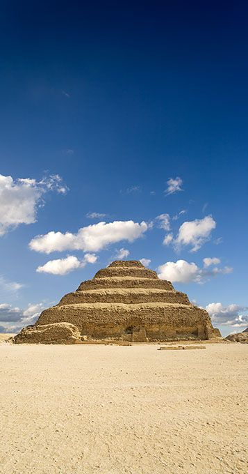 Saqqara, the pyramid of Djoser