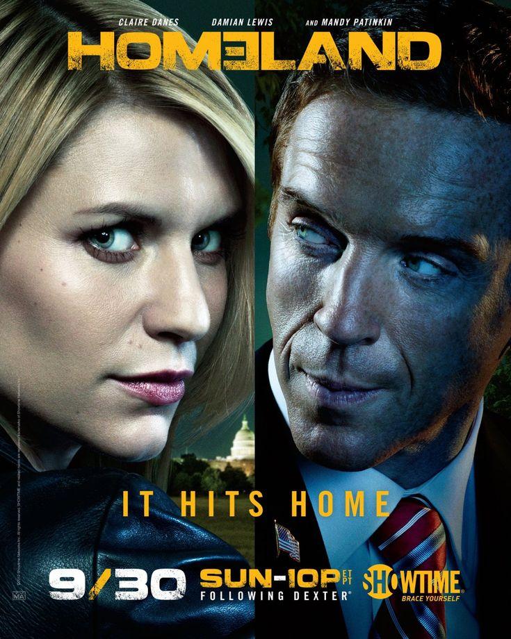Homeland-Poster-Saison2  #wafasblog.com, #TV, #show,