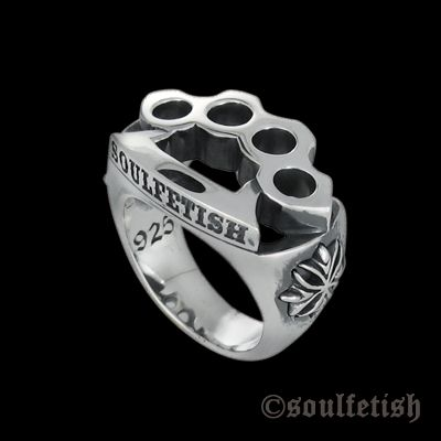 Small punch - Ring - Online store - SoulFetish Rock Chic Jewelry since 1999