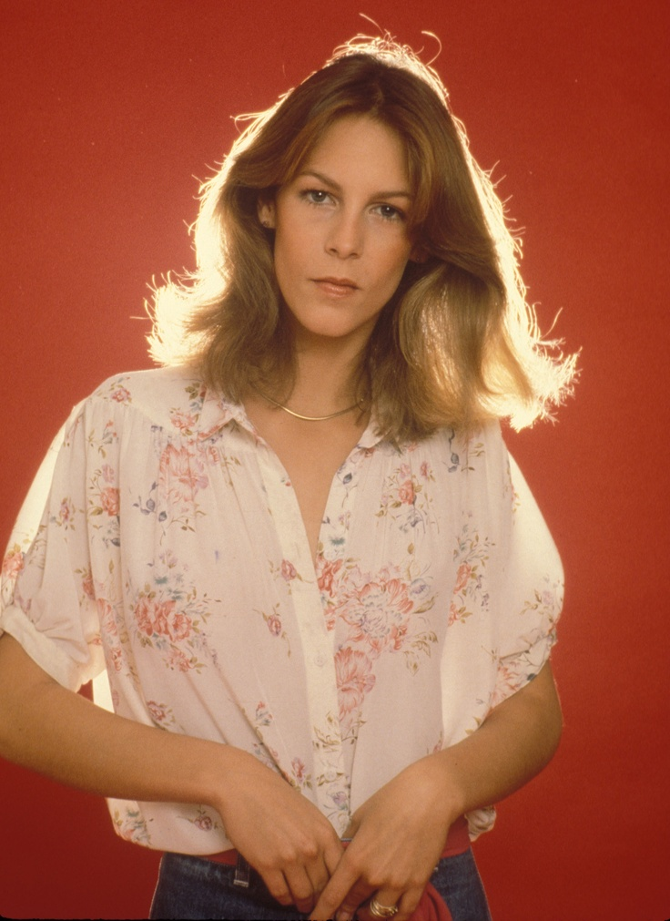 Jamie Lee Curtis. remember her like this in the first HALLOWEEN film? ca. 1977
