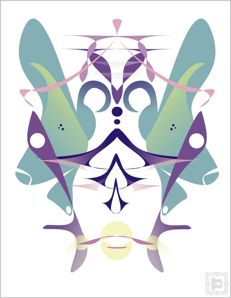 """Illustration """"Abstract Butterfly 2"""" by DreamCode"""