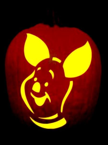 55 best eeyore crafts images on pinterest for Winnie the pooh pumpkin carving templates