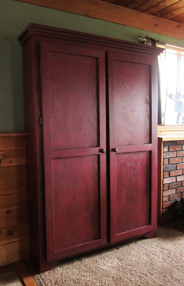 Master Bedroom With Armoire