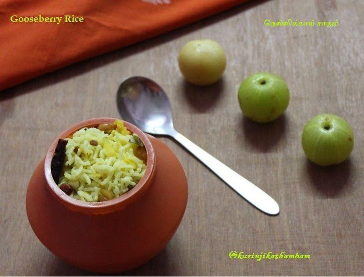 Gooseberry Rice / Nellikkai Satham ~ Kurinji Kathambam
