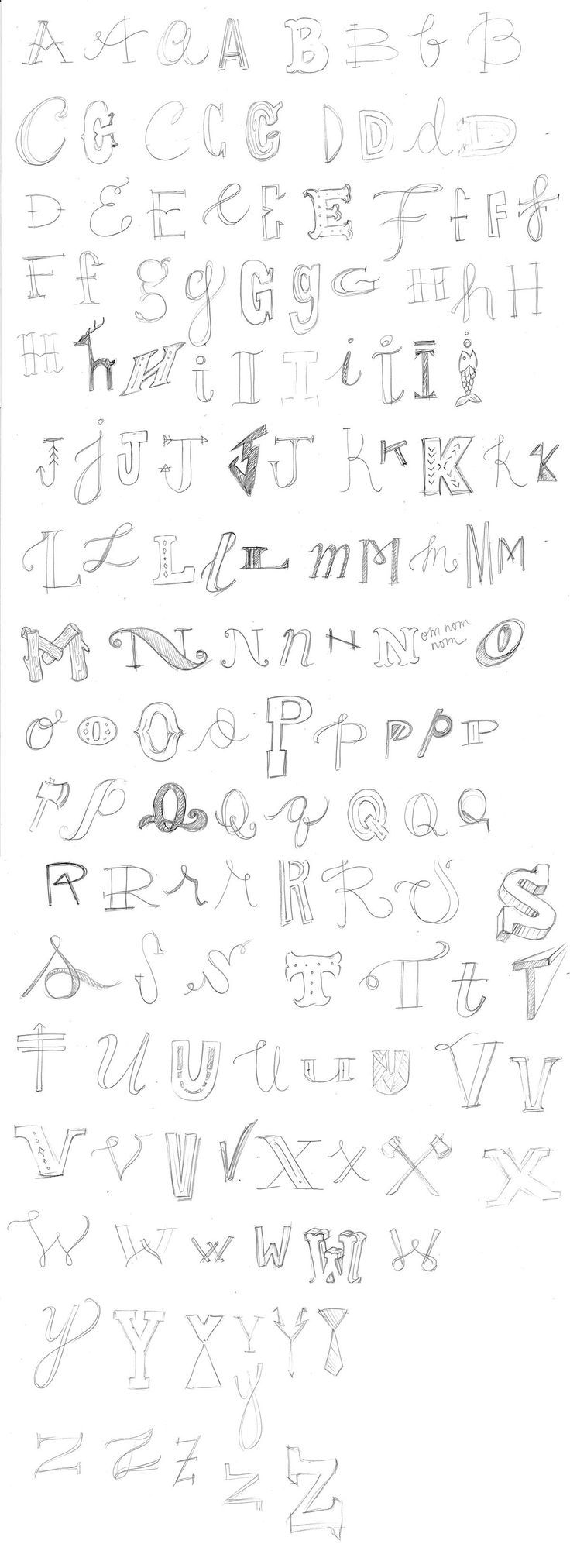 Hand-Lettering | Practice the Alphabet! by Angela Tomson - Skillshare