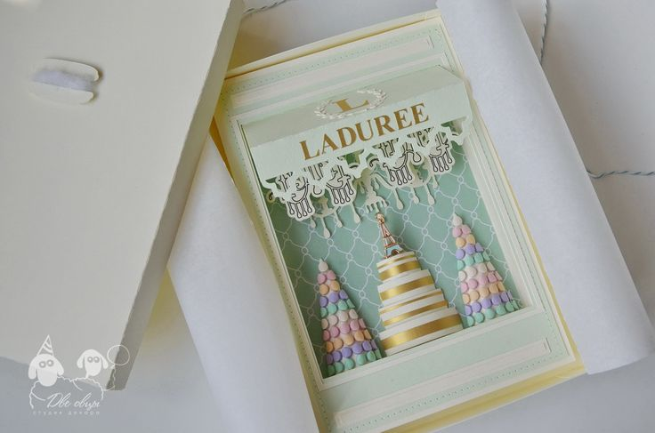 Laduree card / Открытка-витрина Laduree