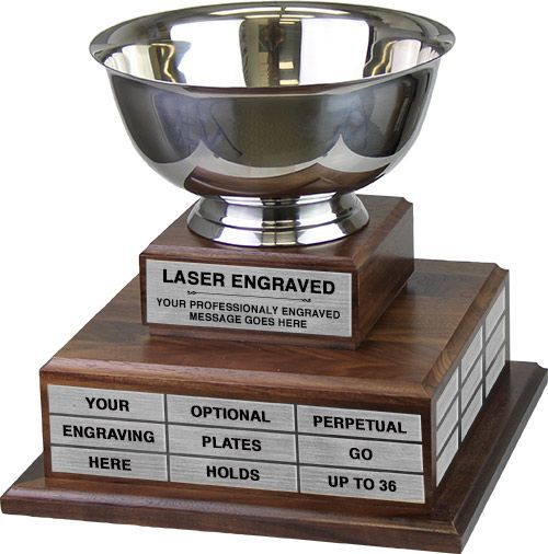 Revere Bowl Twin Tier Perpetual Trophy