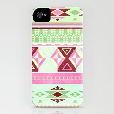 #Neon #Aztec on #Iphone #case $35.00