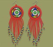 Earrings African Queen