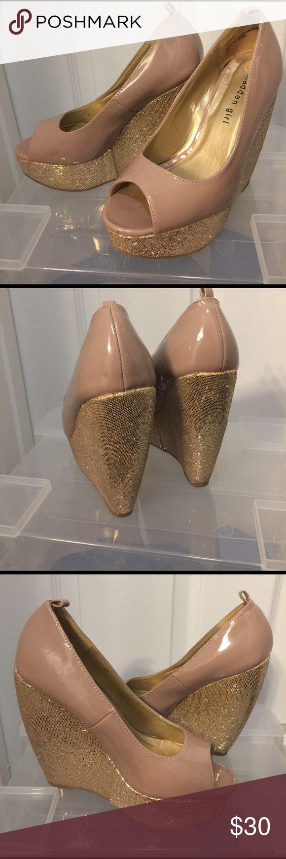 Bling Platform Wedges Super Comfy Madden Girl Shoes Wedges