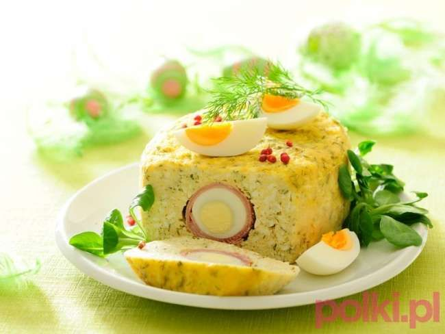 jajka wielkanocne przepis, jajka na wielkanoc, terrina z jajkiem, terrina przepis, potrawy wielkanocne, śniadanie wielkanocne