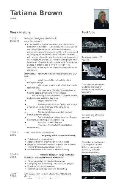 Architectural Resume Examples | Resume Example And Free Resume Maker
