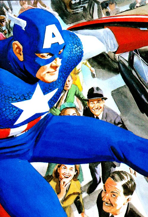 Captain America from MARVELS - Alex Ross