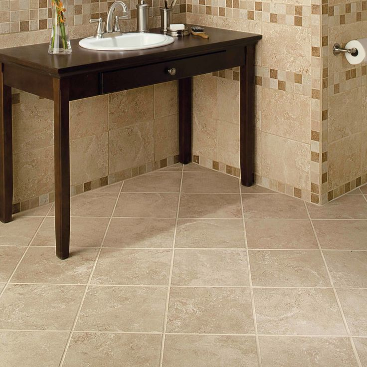 I Like The Large Tile On Diagonal American Olean Product Photo Feature Pozzalo In Coastal Beige  In Grid Pattern On The Wall With  Mosaic