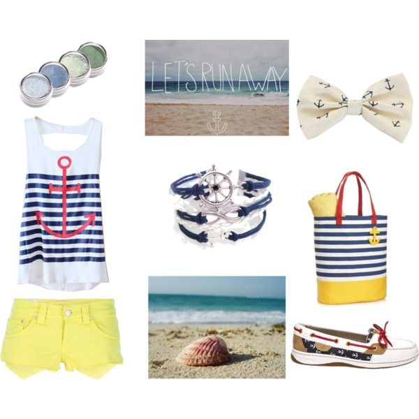 """Day at sea"" by socialintrovert on Polyvore"