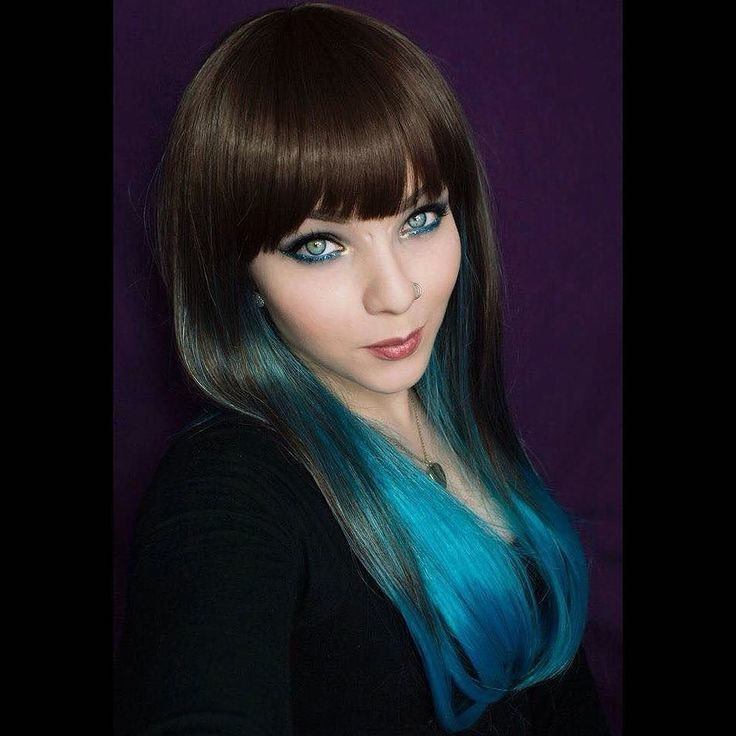 @mothqueenmakeup Looks super lush in her Blue Moon wig  #lushwigsbluemoon #wig #alternative #lushwigs  She is available now from www.lushwigs.com #lushwig #model #ombrewig
