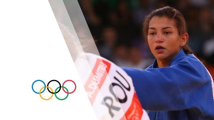 Alina Dumitru (ROU) v Sarah Menezes (BRA) -48kg Women's Judo Final Repla...