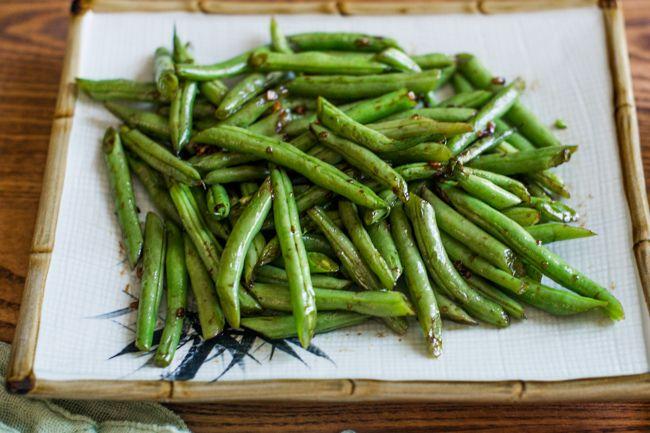 ... Beans Recipe, Sesame Green, Green Beans, Easy Vegetable Recipes, Stir