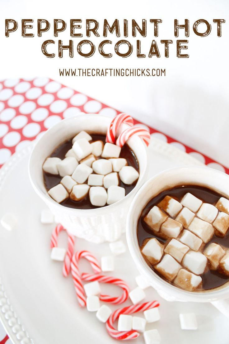 Easy Peppermint Hot Chocolate - This recipe is always a favorite!