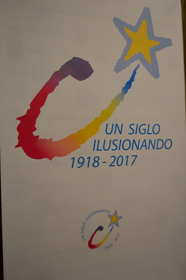 """* La colorimetría y la estrella de la ilusión, protagonistas en el logotipo de la Cabalgata bajo el lema """"un siglo ilus..."""