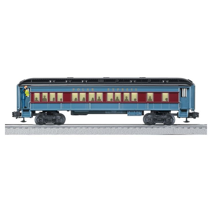 Lionel Polar Express Conductor Announcement Car