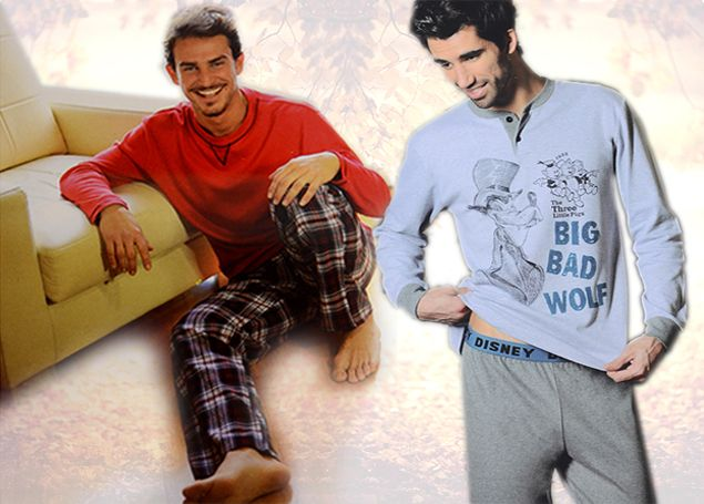 Men's Cotton winter pajamas by SexyMelia