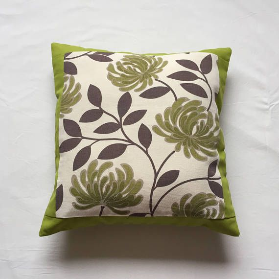 Retro Cushion Lime Green Back Mid Century FeelRetro Lime