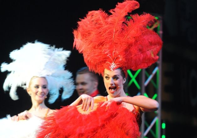 Glitz, glamour and music were the order of the night at the Back to Broadway show at Preston's Charter Theatre.